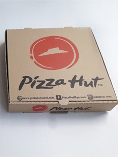 Pizza's box was produced from HD Paper Packagingcompany in cheap price + 1